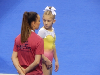 British Fliss and Kelly on floor